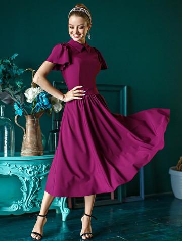 Платье luselia, цвет сливовый