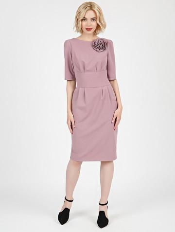 Платье kriss, цвет розовый жемчуг