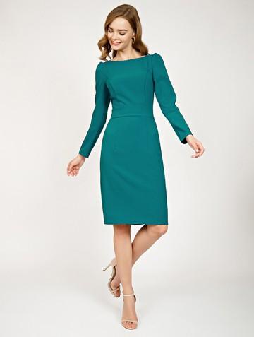 Платье flurry, цвет темно-бирюзовый