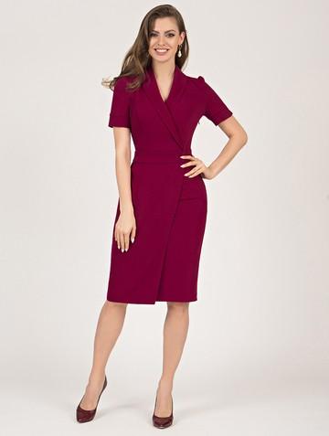 Платье magaly, цвет бордовый