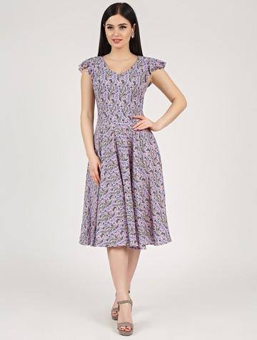 Платье ruslana, цвет розово-синий