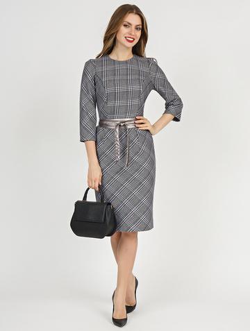 Платье pavlina, цвет серый