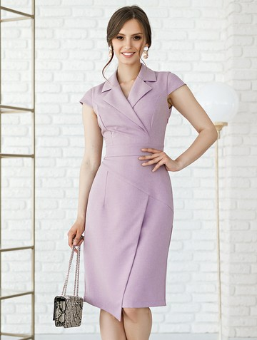 Платье mistrea, цвет сиреневый