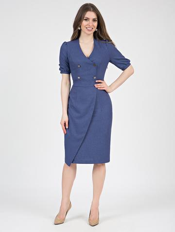 Платье teofania, цвет синий