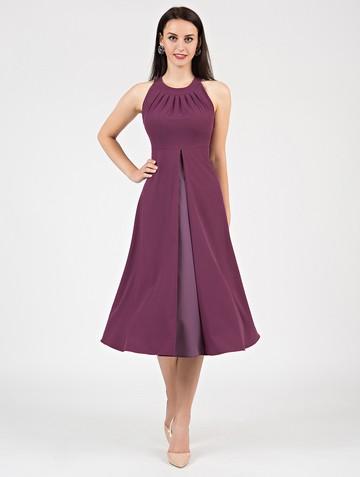 Платье antonella, цвет темно-лиловый