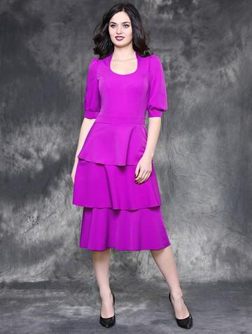 Платье franky, цвет насыщенно-сиренев