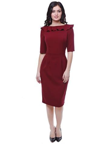Платье naima, цвет бордовый