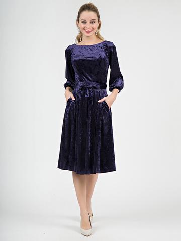 Платье alfira, цвет индиго