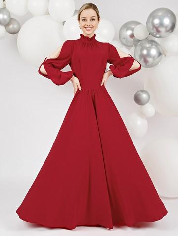 Платье deffy, цвет мальва