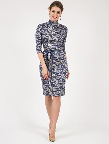 Платье sofy, цвет лазурно-серый