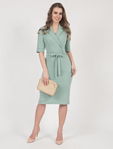 Платье neolina, цвет серо-зеленый