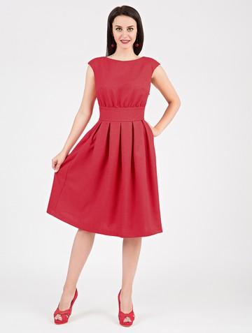 Платье ravena, цвет мальва