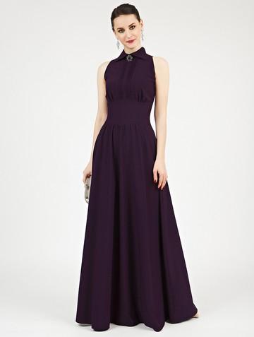 Платье dinia, цвет темно-фиолетовый
