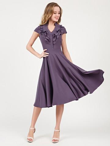 Платье fernanda, цвет серо-лиловый