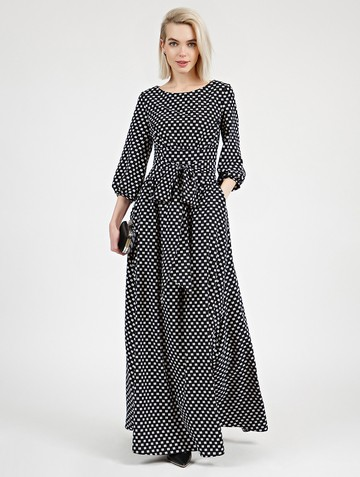 Платье rufis, цвет черный