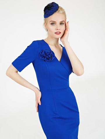 Платье mimy, цвет ультрамарин
