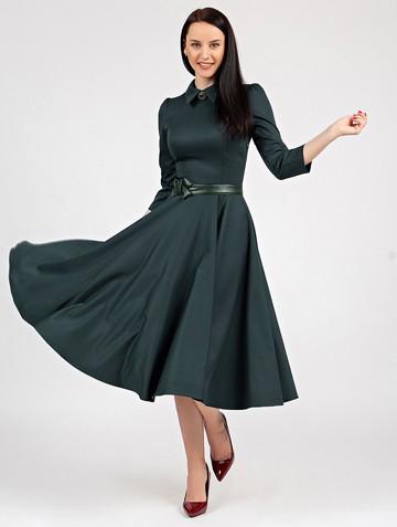 Платье macgery, цвет зеленый