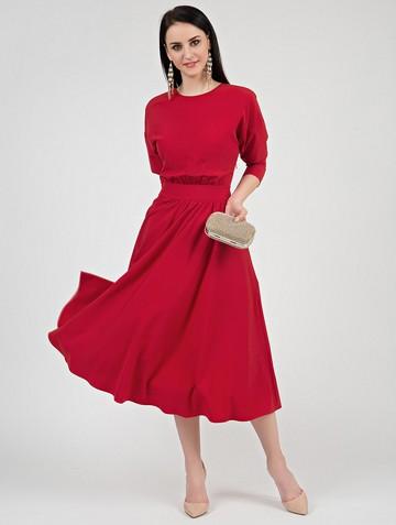 Платье halila, цвет красный