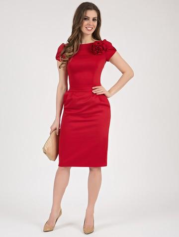 Платье ioganna, цвет красный