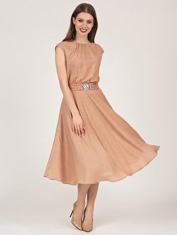 Платье vitalina, цвет бежевый
