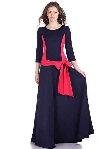 Платье lanjy, цвет сине-коралловый