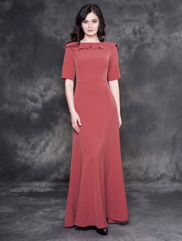Платье maiza, цвет темно-лососевый