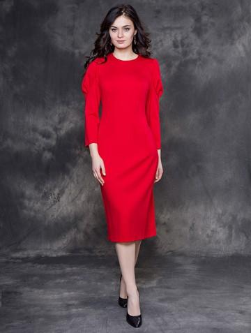 Платье ionna, цвет красный