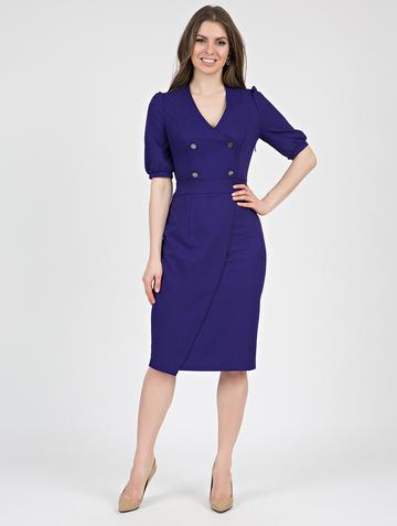 Платье teofania, цвет чернильный
