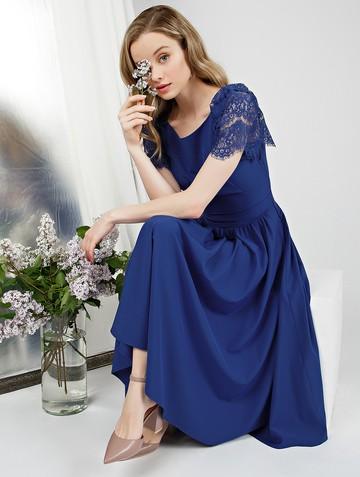 Платье ellina, цвет ультрамарин