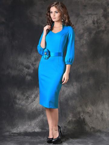 Платье eivory, цвет светло-голубой