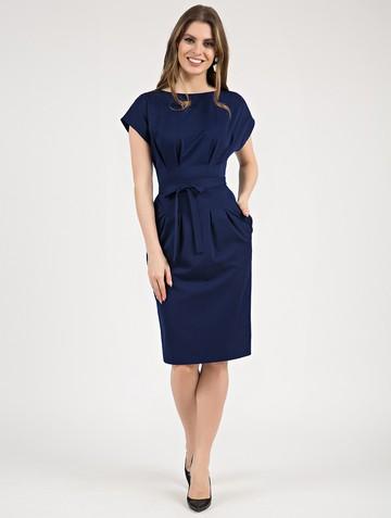 Платье elena, цвет темно-синий