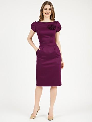 Платье ioganna, цвет сливовый