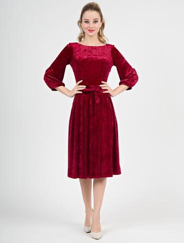 Платье alfira, цвет красный