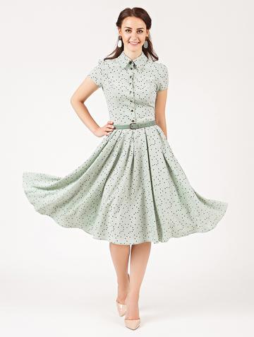 Платье trisha, цвет мятный
