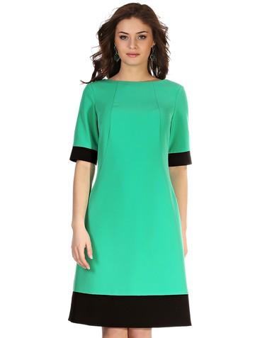 Платье kapa, цвет зелено-черный