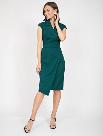 Платье mistrea, цвет бирюзово-зеленый