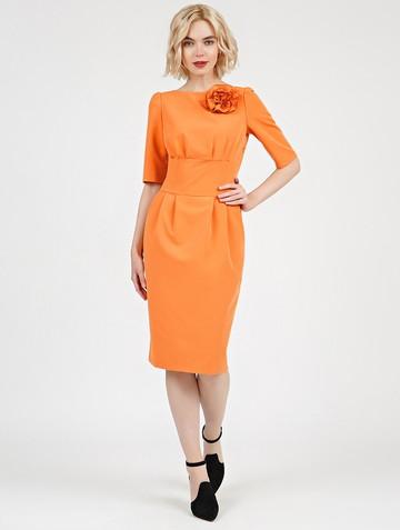 Платье kriss, цвет желтый