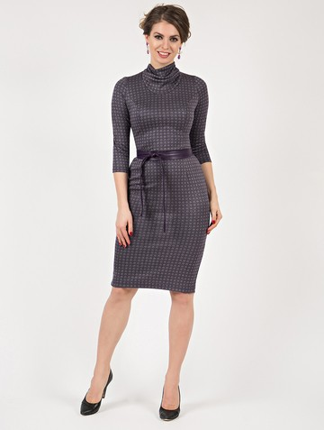 Платье sofy, цвет фиолетовый