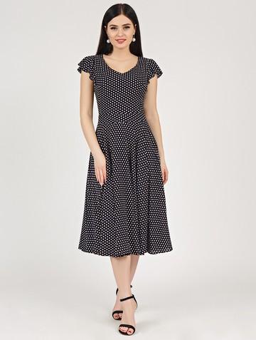 Платье ruslana, цвет черно-бежевый
