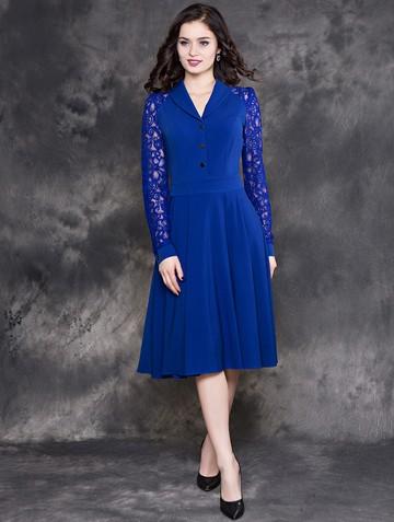Платье beautty, цвет ультрамарин