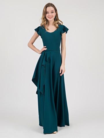 Платье selesta, цвет зелено-бирюзовый