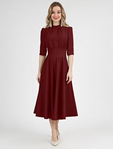 Платье sandrina, цвет бордовый