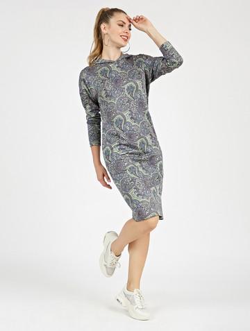 Платье ivy, цвет зелено-сиреневый