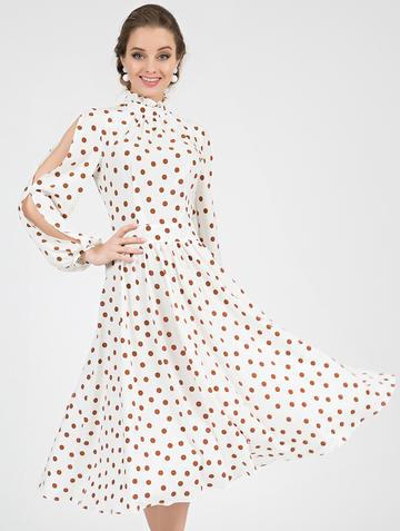 Платье slay, цвет молочно-коричневый