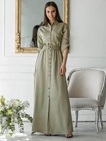 Платье inspira, цвет зеленый