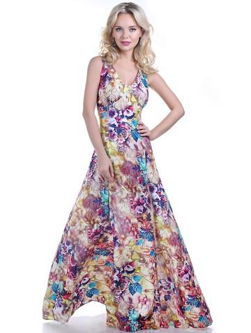 Платье narny, цвет желто-фиолетовый