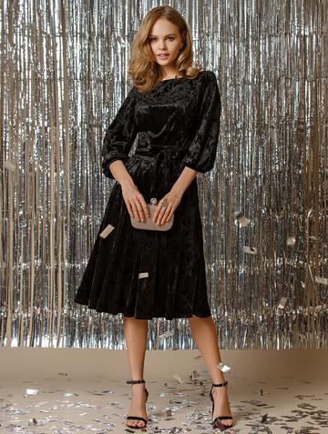 Платье alfira, цвет черный