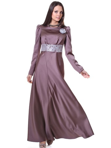 Платье astoria, цвет какао