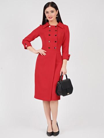 Платье rory, цвет красный