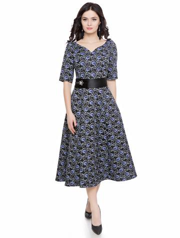 Платье madjesty, цвет черно-синий